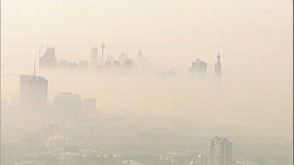 Fojtogató füst borítja Sydneyt