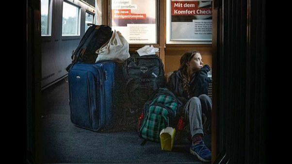 Greta Thunberggel kötekedett a német vasút