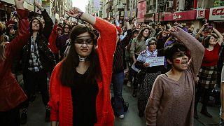 'Las Tesis' eylemi - İzmir