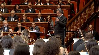 Рождественский концерт в итальянском Сенате