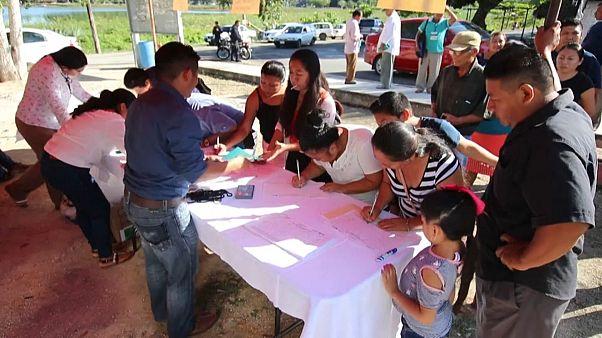 Los indígenas mexicanos votan a favor del Tren Maya de López Obrador
