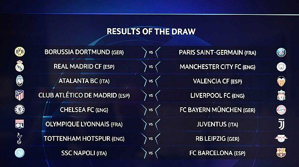 Ligue des champions : Lyon affrontera la Juventus, Paris tombe sur Dortmund