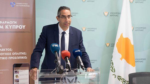 Ο Υπουργός Άμυνας της Κύπρου, Σάββας Αγγελίδης