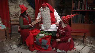 Подарки из Лапландии: Санта-Клаус отправился в путь