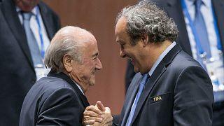 2015'te Sepp Blatter, Michel Platini'nin desteğiyle tekrar FIFA Başkanı seçildi