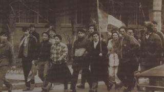 """....als die Leute von Temeswar """"Freiheit!"""" sangen (1989)"""