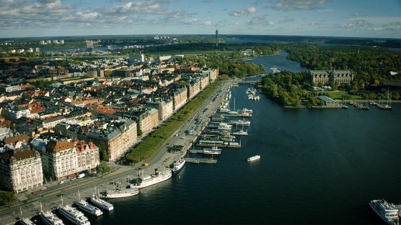 Climate control: Stockholm named world's smartest city as it aims for climate positive footprint