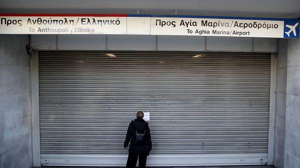 Αθήνα: Στάση εργασίας στο μετρό την Τρίτη