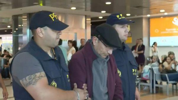 Extraditado a Argentina el expolicía de la dictadura militar de Videla, Mario Sandoval