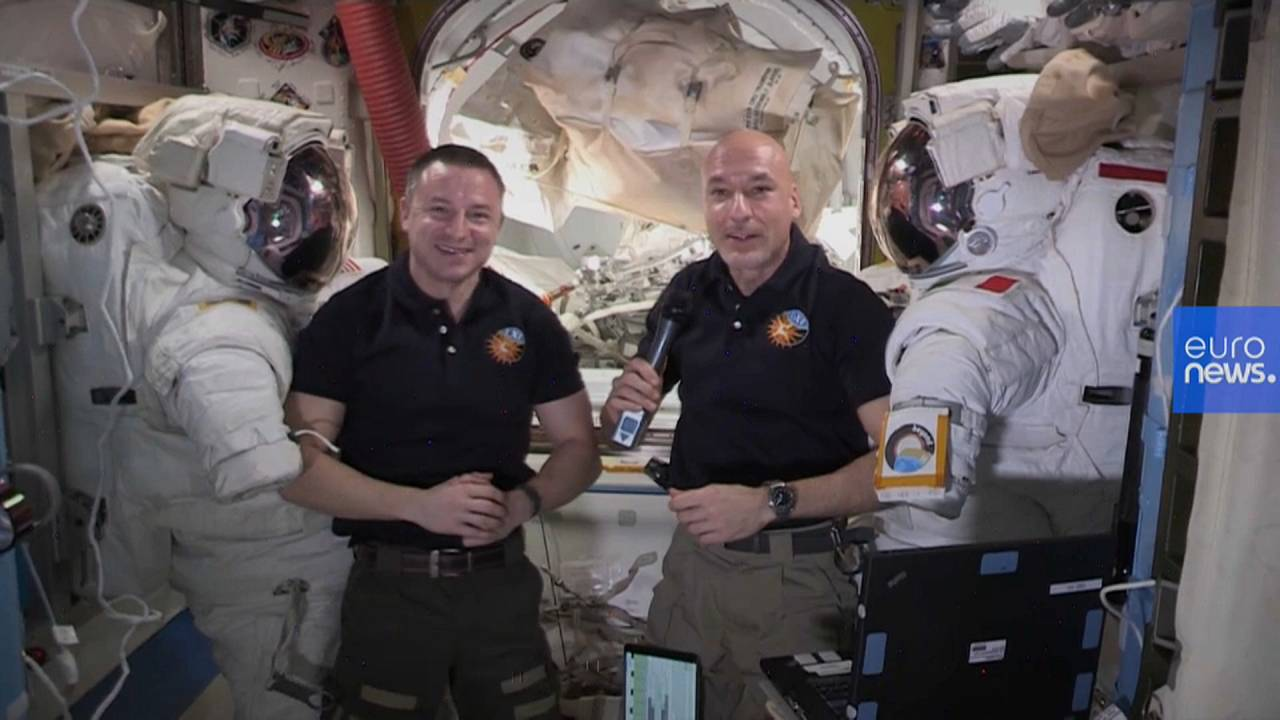 Astronauts conduct health experiment and spacewalk at International Space Station