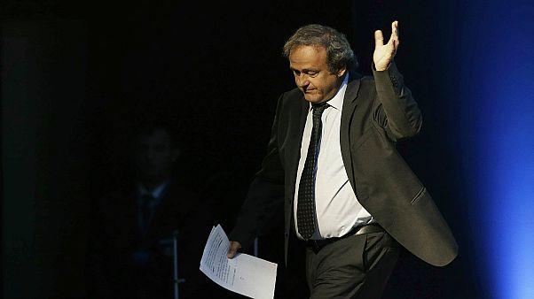 ميشال بلاتيني الرئيس السابق للاتحاد الأوروبي لكرة القدم