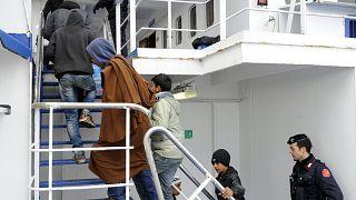 مهاجرون غير شرعيون عبروا المتوسط