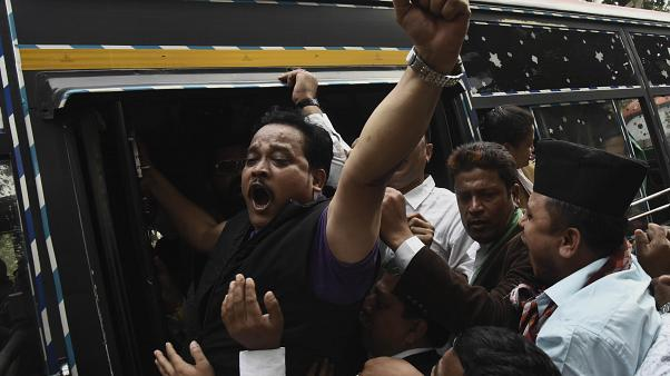 India rocked by wave of violent protests against citizenship law