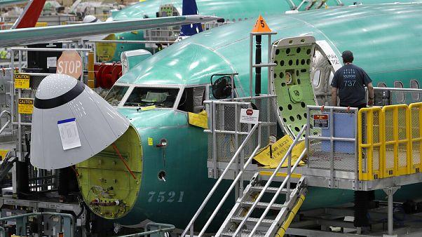 Boeing, 737 Max tipi uçakların üretimini durduruyor