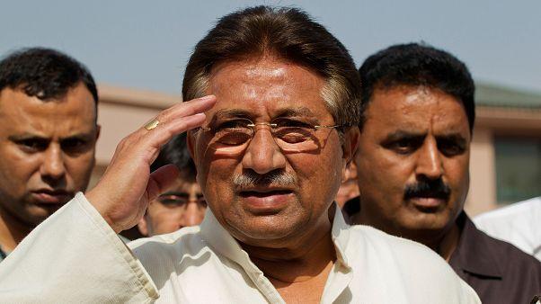 الرئيس الباكستاني السابق برويز مشرف