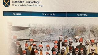 Polonya'daki Jagiellon Üniversitesi Türkoloji Bölümü tanıtım fotoğrafı