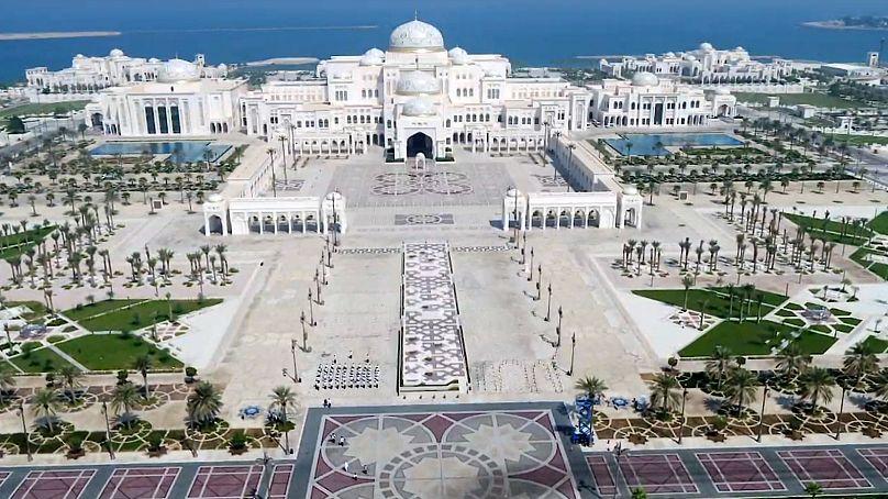 Palace Of The Nation Qasr Al Watan Attracts Visitors To Abu Dhabi Euronews