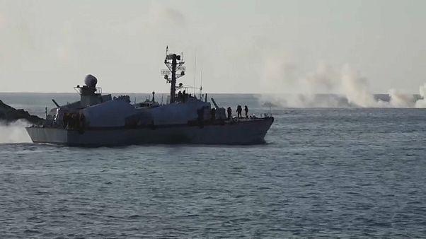 Россия и Сирия начали военные учения