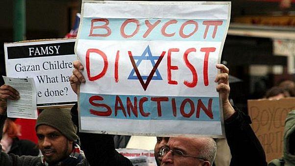 İsrail boykot eyleminden