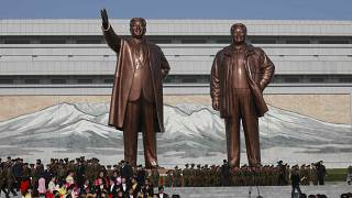В КНДР почтили память Ким Чен Ира
