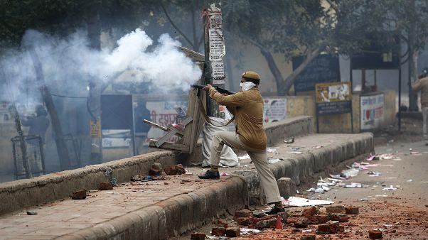 احتجاجات في الهند على قانون الجنسية