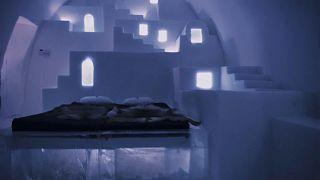 Ледяной отель в Швеции празднует 30-летие