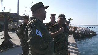 Russisch-syrische Militärübung im Mittelmeer