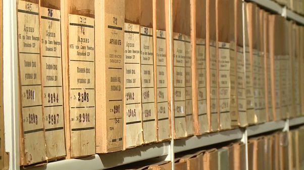 Les archives du KGB à Riga en Lettonie