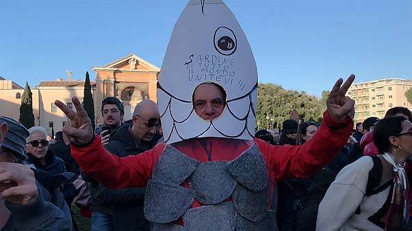 Italy's 'sardines' have bigger fish to fry