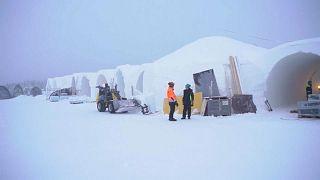 Jégszálloda nyílik Svédország legészakibb részén