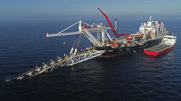 پروژه خط لوله گاز طبیعی Nord Stream 2 در دریای بالتیک برای انتقال گاز از روسیه به آلمان