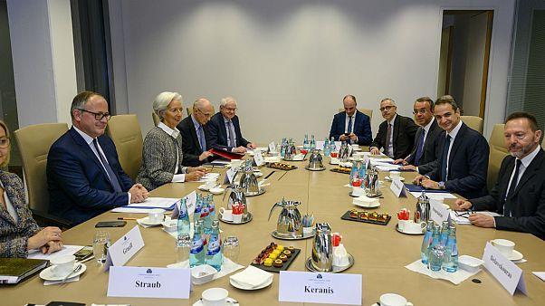 Ικανοποίηση Λαγκάρντ στην συνάντηση με Μητσοτάκη για τις μεταρρυθμίσεις στην Ελλάδα