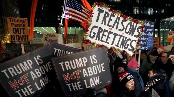 Estados Unidos da el último paso para juzgar a Donald Trump