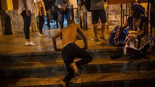 طقوس سنوية للكوبيين إفي كنيسة القديس لازاروس الوطنية