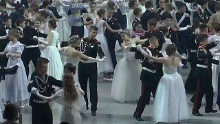 В Москве прошел кремлевский кадетский бал