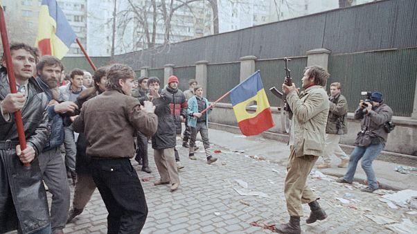Ρουμανία, Δεκέμβριος 1989