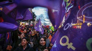 Dünya Kadınlar Günü Yürüyüşü / 2017 / İstanbul