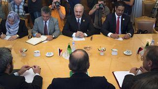Archives : Khalifa Haftar rencontre Sergei Lavrov en aout 2017