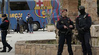 تدابیر شدید امنیتی پیش از برگزاری الکلاسیکو
