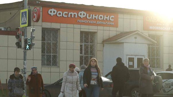Закредитованные россияне