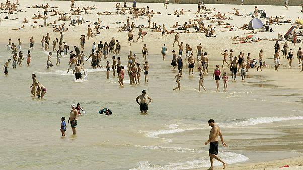 Австралия: самый жаркий день
