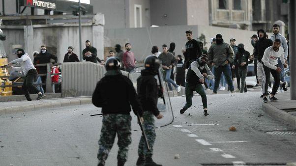 من المواجهات التي وقعت السبت الفائت في بيروت