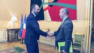 Laurent Berger et Edouard Philippe