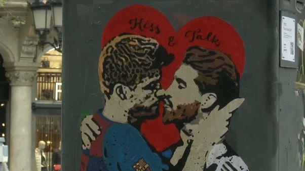 El beso de la deportividad vuelve a Barcelona