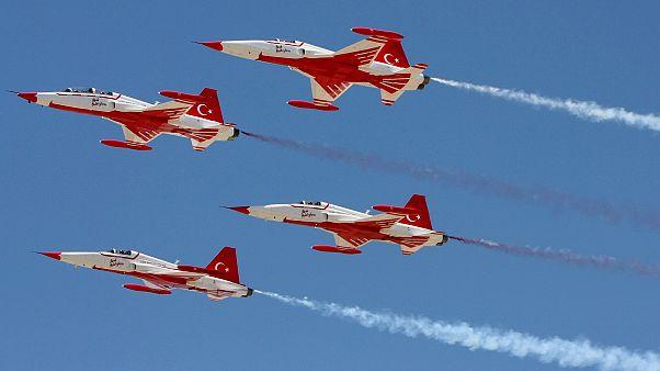 Συνεχίζει τις προκλήσεις η Άγκυρα με μπαράζ παραβιάσεων από μαχητικά αεροσκάφη