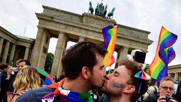 Berlin'de eşcinsel bir çift