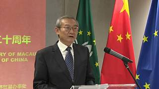 Zhang Ming, Chinese ambassador to the EU