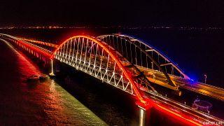 Завершилось строительство железнодорожной части Крымского моста