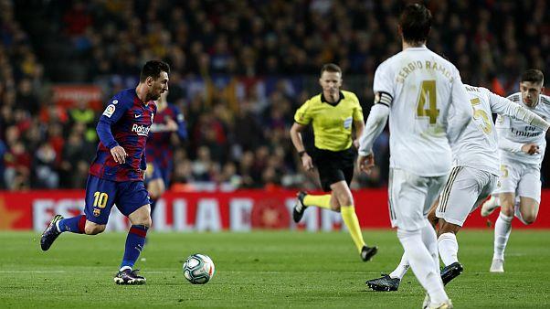 تساوی بارسلونا و رئال مادرید
