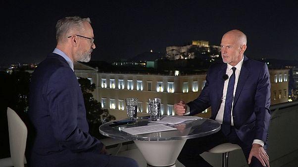 Ο Γιώργος Παπανδρέου στο euronews:«Η Ευρώπη ασπίδα στη Μεσόγειο»